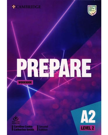 Prepare 2 - Workbook With Audio Download - Second Edition
