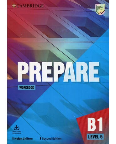 Prepare 5 - Workbook With Audio Download - Second Edition