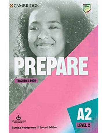 Prepare 2 - Teacher's Book With Downloadable Resource Pack - Second Edition