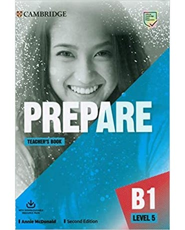 Prepare 5 - Teacher's Book With Downloadable Resource Pack - Second Edition