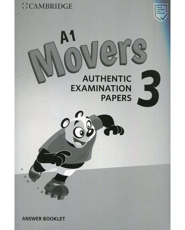 A1 Movers 3 - Authentic Examination Papers - Answer Booklet