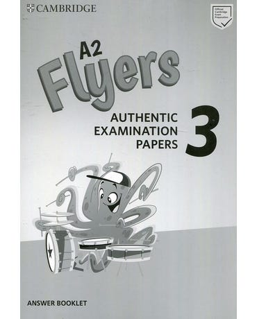 A2 Flyers 3 - Authentic Examination Papers - Answer Booklet