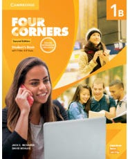 Four Corners 1B - Student's Book With Online Self-Study And Online Workbook - Second Edition