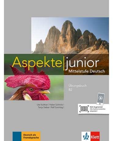 Aspekte Junior B2- Übungsbuch Mit Audios Zum Download