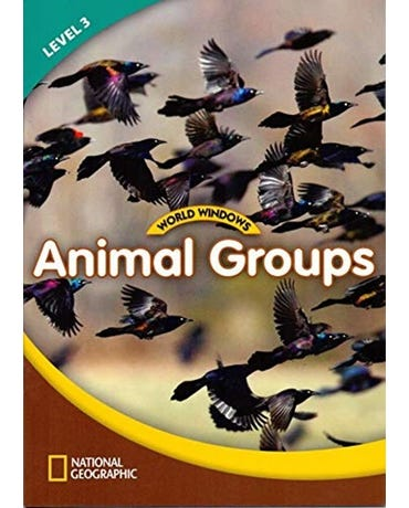 Animal Groups - World Windows - Level 3