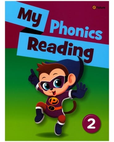 My Phonics Reading 2 - Student's Book With Workbook And MP3 Audio CD