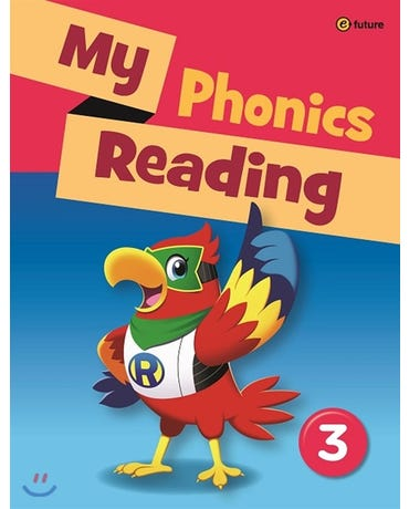 My Phonics Reading 3 - Student's Book With Workbook And MP3 Audio CD
