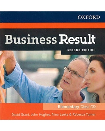 Business Result Elementary - Class Audio CD - Second Edition