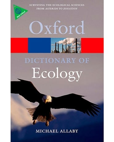 A Dictionary Of Ecology - Fourth Edition