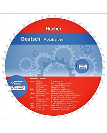 Deutsch - Modalverben - Wheel