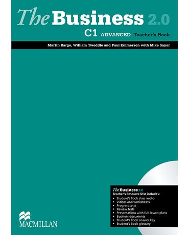 The Business 2.0 C1 Advanced - Teacher's Book With Resource CD
