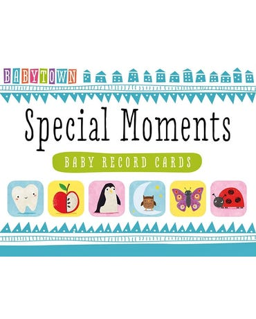 Special Moments Baby - Record Cards - Baby Town