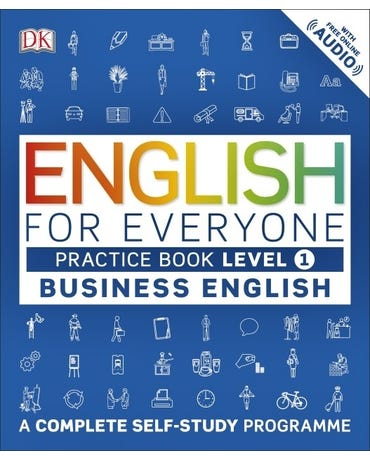 English For Everyone Business English - Level 1 - Practice Book - With Free Online Audio