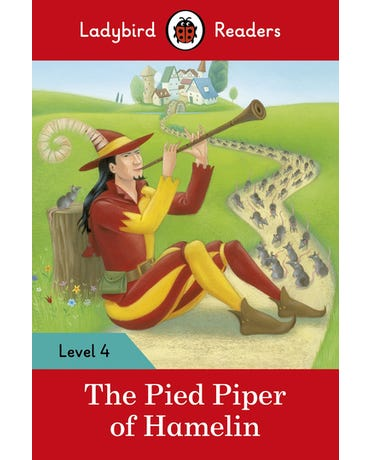 The Pied Piper Of Hamelin - Ladybird Readers - Level 4 - Book With Downloadable Audio (Us/Uk)