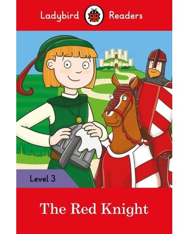 The Red Knight - Ladybird Readers - Level 3 - Book With Downloadable Audio (Us/Uk)