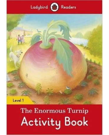 The Enormous Turnip - Ladybird Readers - Level 1 - Activity Book