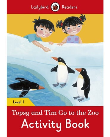 Topsy And Tim: Go To The Zoo - Ladybird Readers - Level 1 - Activity Book