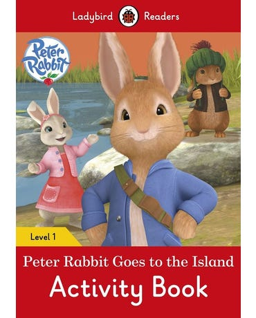 Peter Rabbit Goes To The Island - Ladybird Readers - Level 1 - Activity Book