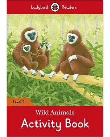 Wild Animals - Ladybird Readers - Level 2 - Activity Book