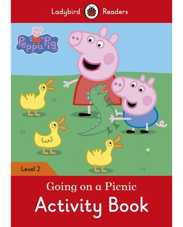 Peppa Pig: Going On A Picnic - Ladybird Readers - Level 2 - Activity Book