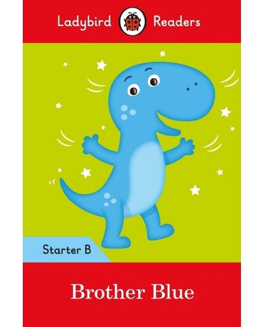 Brother Blue - Ladybird Readers - Starter Level B - Book With Downloadable Audio (Us/Uk)