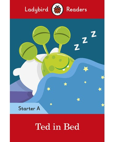 Ted In Bed - Ladybird Readers - Starter Level A - Book With Downloadable Audio (Us/Uk)