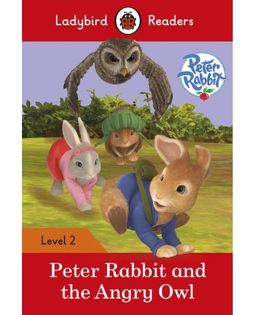 Peter Rabbit And The Angry Owl - Ladybird Readers - Level 2 - Book With Downloadable Audio (Us/Uk)