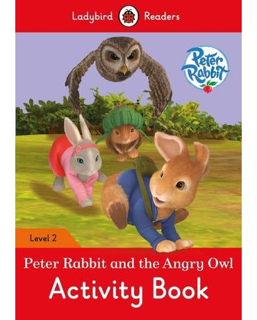 Peter Rabbit And The Angry Owl - Ladybird Readers - Level 2 - Activity Book