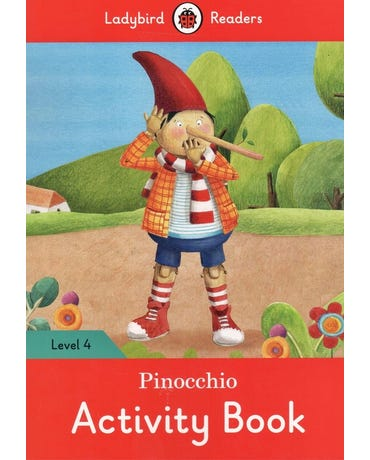 Pinocchio - Ladybird Readers - Level 4 - Activity Book