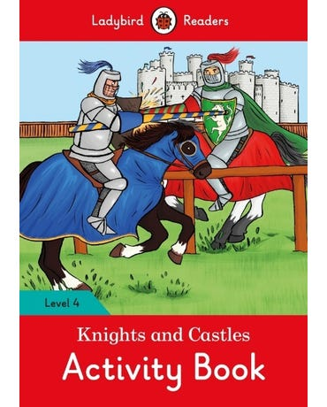 Knights And Castles - Ladybird Readers - Level 4 - Activity Book