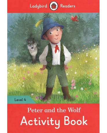 Peter And The Wolf - Ladybird Readers - Level 4 - Activity Book