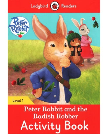 Peter Rabbit And The Radish Robber - Ladybird Readers - Level 1 - Activity Book