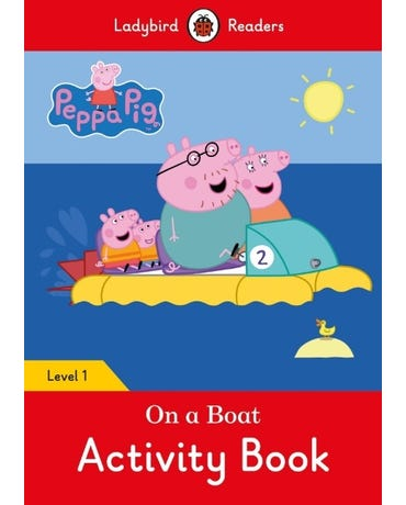 On A Boat - Ladybird Readers - Level 1 - Activity Book