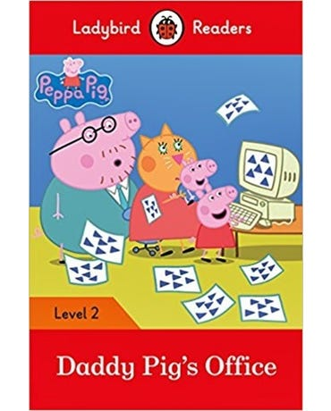 Peppa Pig: Daddy Pig's Office - Ladybird Readers - Level 2 - Book With Downloadable Audio (Us/Uk)