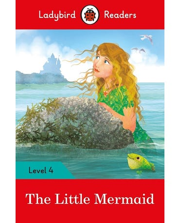 The Little Mermaid - Ladybird Readers - Level 4 - Book With Downloadable Audio (Us/Uk)
