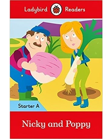 Nicky And Poppy - Ladybird Readers - Starter Level A - Book With Downloadable Audio (Us/Uk)
