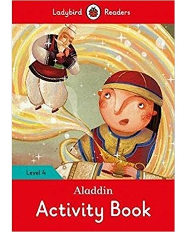 Aladdin - Ladybird Readers - Level 4 - Activity Book