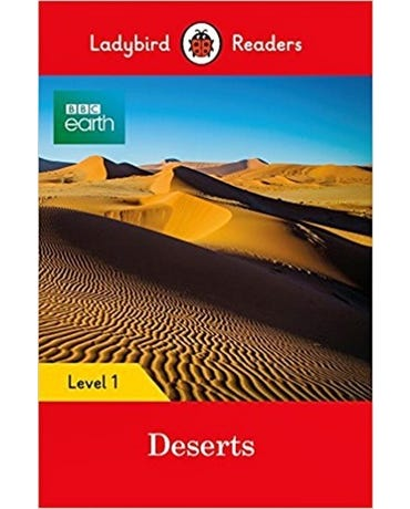 Bbc Earth: Deserts - Ladybird Readers - Level 1 - Book With Downloadable Audio (Us/Uk)
