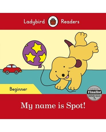 My Name Is Spot! - Ladybird Readers - Level Beginner - Book With Downloadable Audio (Us/Uk)