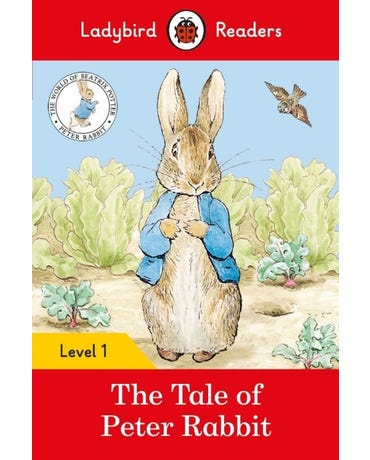 The Tale Of Peter Rabbit - Ladybird Readers - Level 1 - Book With Downloadable Audio (Us/Uk)