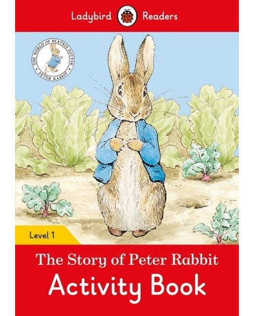 The Tale Of Peter Rabbit - Ladybird Readers - Level 1 - Activity Book