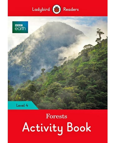 Bbc Earth: Forests - Ladybird Readers - Level 4 - Activity Book