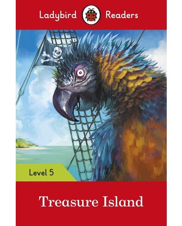 Treasure Island - Ladybird Readers - Level 5 - Book With Downloadable Audio (Us/Uk)