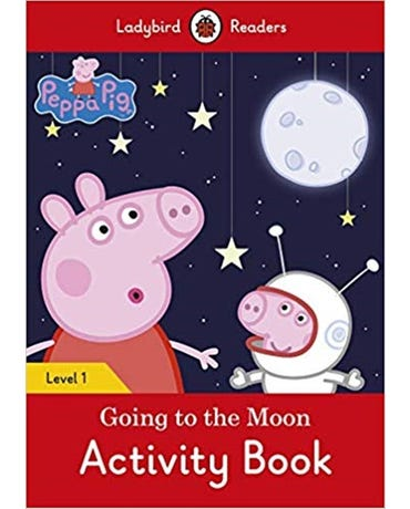 Peppa Pig Going To The Moon - Ladybird Readers - Level 1 - Activity Book