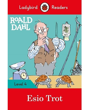 Roald Dahl: Esio Trot - Ladybird Readers - Level 4 - Book With Downloadable Audio (Us/Uk)
