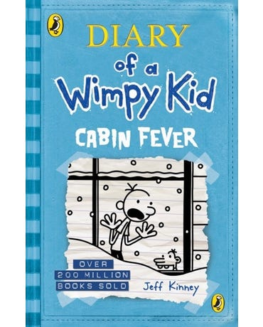 Rj Diary Of A Wimpy Kid - Cabin Fever