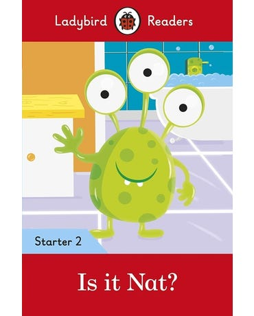 Is It Nat? - Ladybird Readers - Starter Level 2 - Book With Downloadable Audio (Us/Uk)