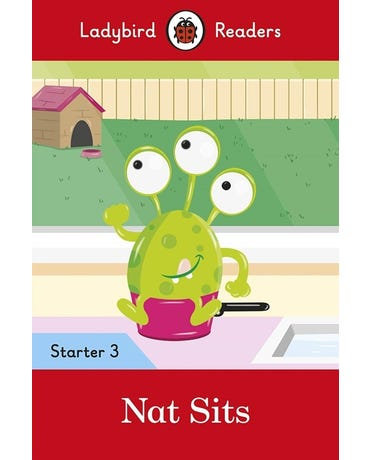 Nat Sits - Ladybird Readers - Starter Level 3 - Book With Downloadable Audio (Us/Uk)