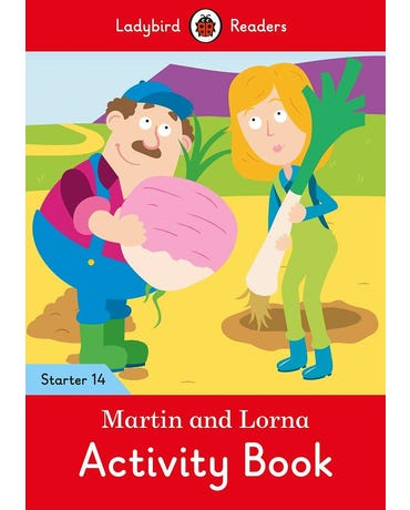 Martin And Lorna - Ladybird Readers - Starter Level 14 - Activity Book