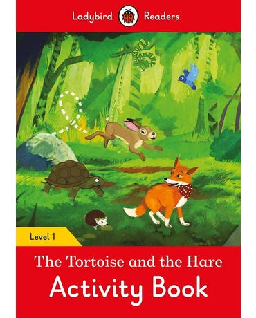 The Tortoise And The Hare - Ladybird Readers - Level 1 - Activity Book